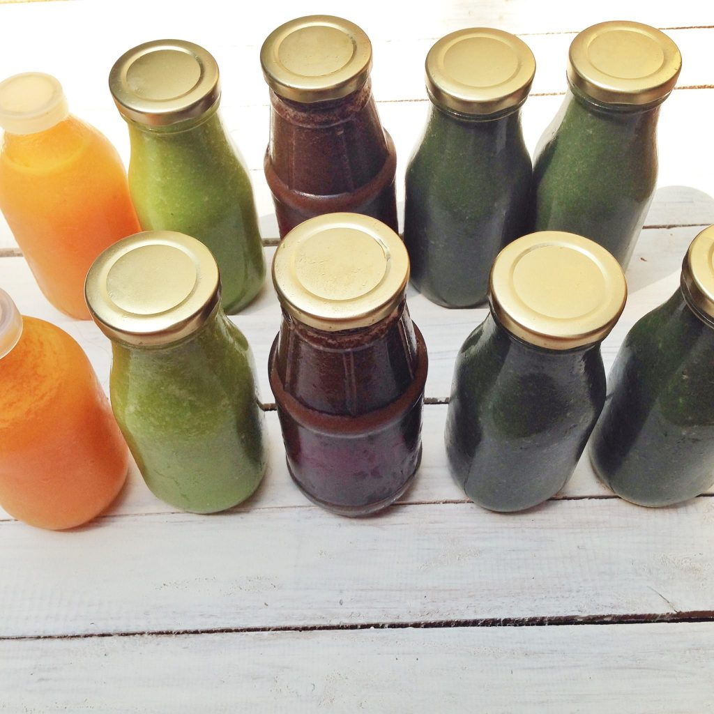 juice cleanse bottles